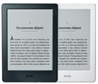 La liseuse Kindle Amazon de face