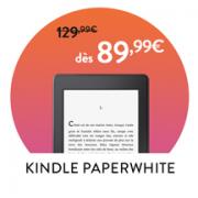 Promotion de la liseuse Kindle Paperwhite