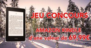 JEU CONCOURS AMAZON KINDLE