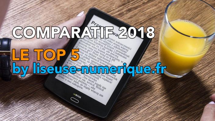 Liseuse avec titre sur les meilleurs liseuses de l'année 2018